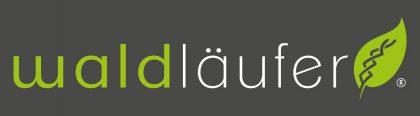 waldlaeufer logo dark grey bg